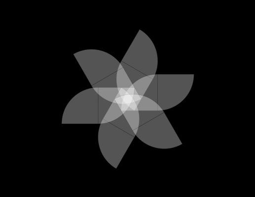 Sistema de Organizaci—n Radial con m—dulo de 3 y 1/4 circuferencia